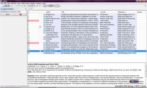 文献管理软件JabRef中文手册--入门 - 光脚 - 光脚的博客