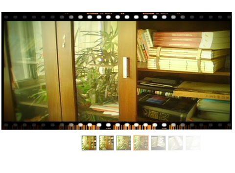 (原创:图/文)我有一所春光明媚的书屋 - 俊朗的阳光 -         临街的窗