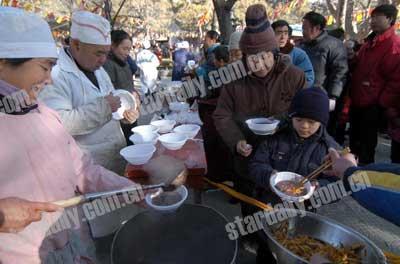 谢雅珏的大碗儿腊八粥! - 高从杰 - 东方文明之光-备份博客一号