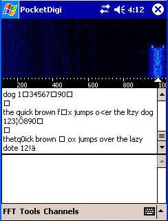 HAM 用数字通信软件 for PocketPC Free  - BD7PA - BD7PAのアマチュア無線の専門誌