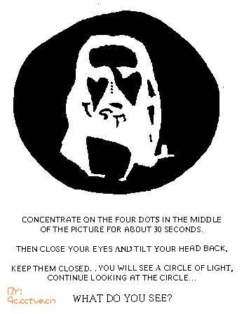 一个让人产生幻觉的图片(不可不看,太奇妙了!!)首先要告诉... - 一個人的世界 - mlf-sart的博客^-^简简单单