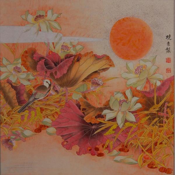 引用 网友书画欣赏(3)——陈晓彦工笔花鸟画 - 卧虎草堂 - 张子鸿的国画