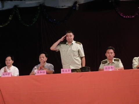 侦察英雄隆志勇风范依旧【原创】 - 54261部队 - 吴荣堂的博客