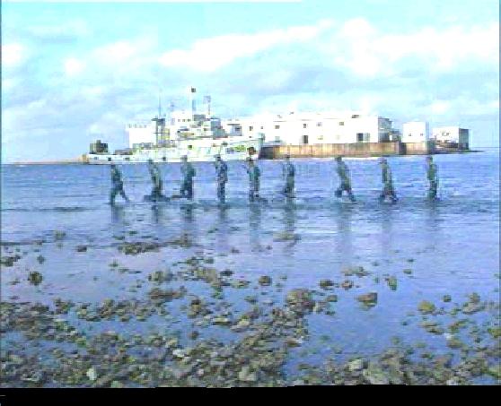16年前永暑礁老兵的守礁日记——8 - 汉子 - 汉子的博客