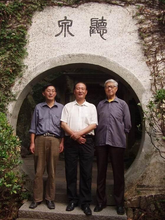 【乐天谷纪事】陪同陈道衍先生游览富春山水 - 乐天蓝鹰 - 乐天蓝鹰的博客