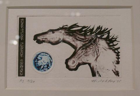 第32届国际藏书票双年展邀请国际艺术家名家作品选(1) - 野蔷薇(何鸣芳) - 我的博客