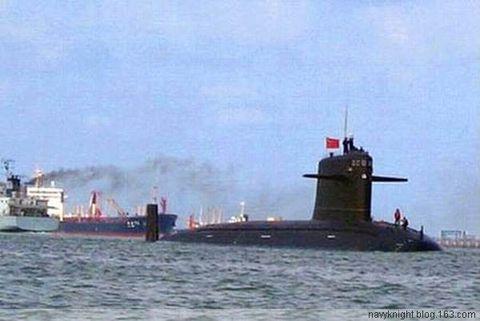 """(原创)从中国""""091""""改看未来核潜发展! - 亮★艦! - Sea Quiver"""