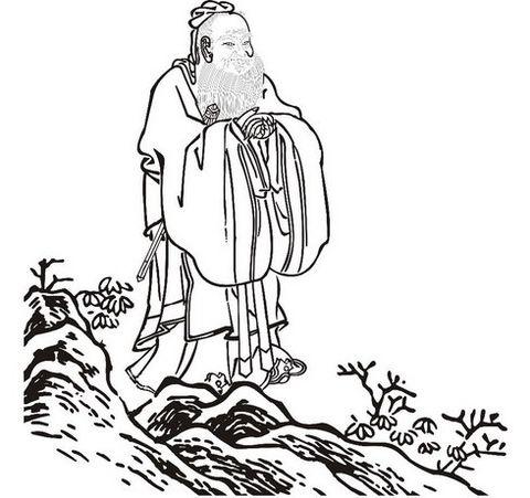 laozi简笔画