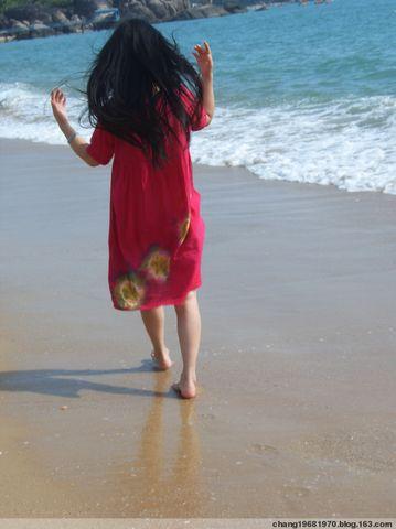 (芷若)面向大海--海南游记之一 - 芷若 - 诗情若心--芷若的微语世界!