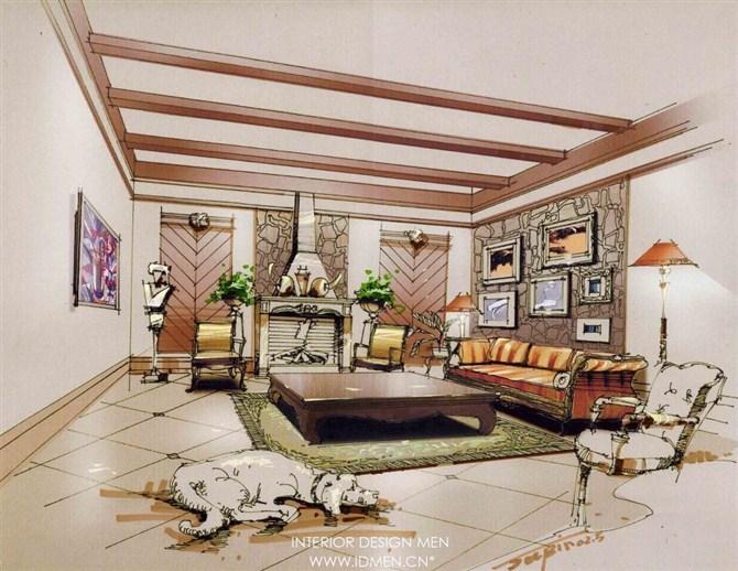 环艺设计,室内室外设计效果图高清图片
