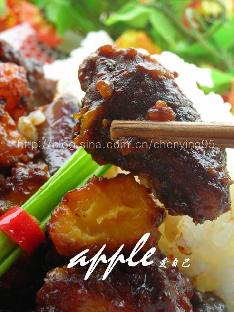 一份套餐搞定一个挑食的男人:番薯排骨蒜香茄子套餐 - 可可西里 - 可可西里