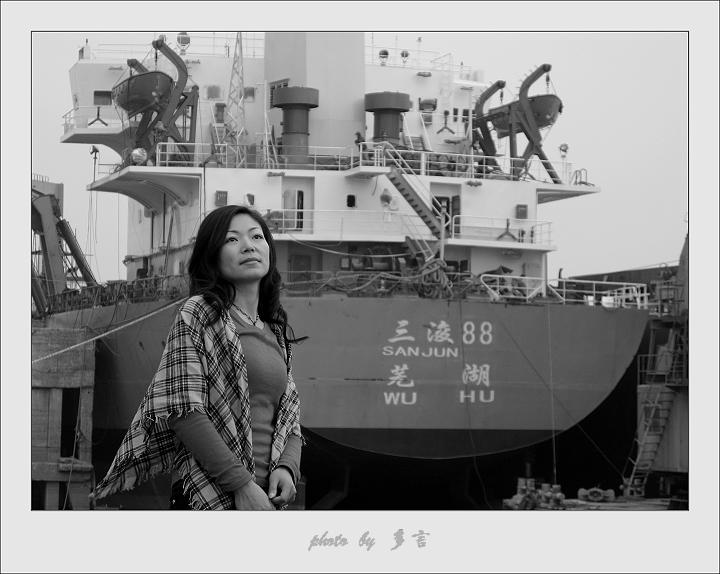 [原]江边靓妹(5P) - 多言 - 我色我乐 我言我心