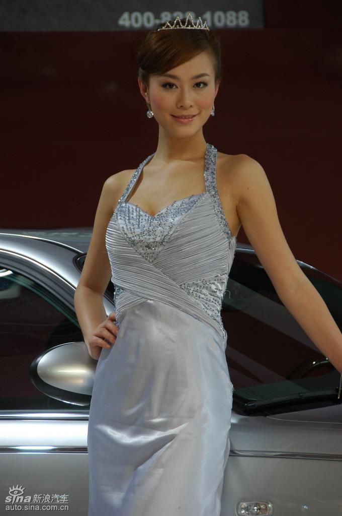 09莱芜车展模特美女图 - 中国摄影 - 中国摄影