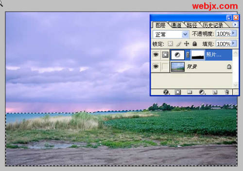 ps的利用滤镜为照片调色 - 迎春 -