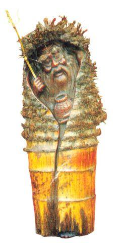 叹为观止—— 竹雕 - 空灵 - 空灵的小屋