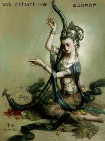 (1)敦煌系列壁画 - 中原风云 - 中原劳务网