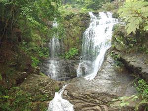 九龙戏珠 横县九龙瀑布群风景区高清图片