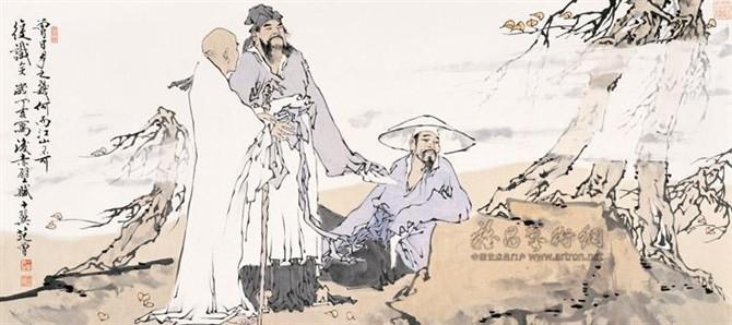 143范 曾先生画作欣赏《上》 - 天外阁主 - 天外阁主的博客
