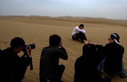 西宁印象(五)文成公主、沙漠与美丽的小韩导游 - xt5999995 - 赵文河的博客