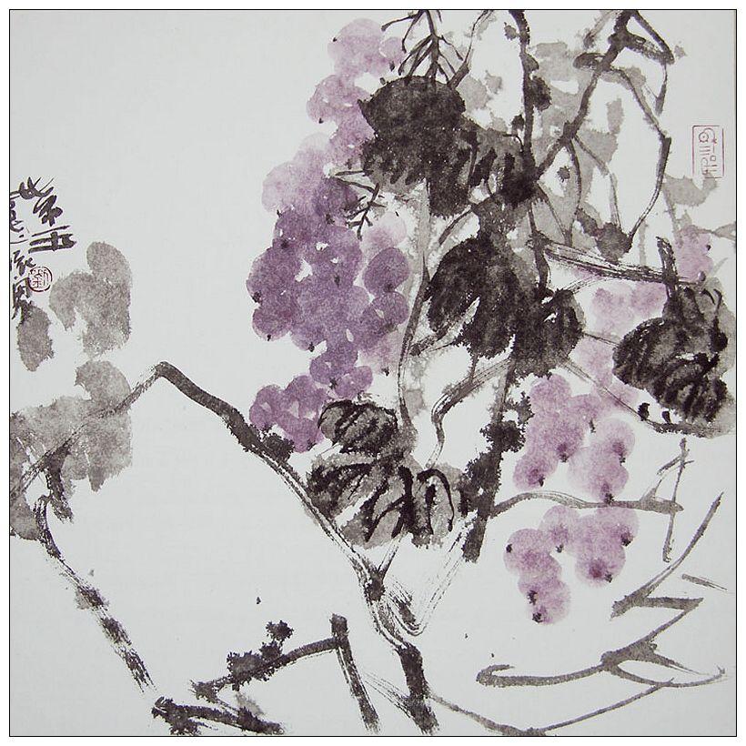 刘怀勇国画作品欣赏 - 陶农 - 元 大 志 长