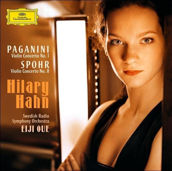 希拉里 哈恩-帕格尼尼 斯波尔 小提琴协奏曲 - kklaodai - kklaodai的博客