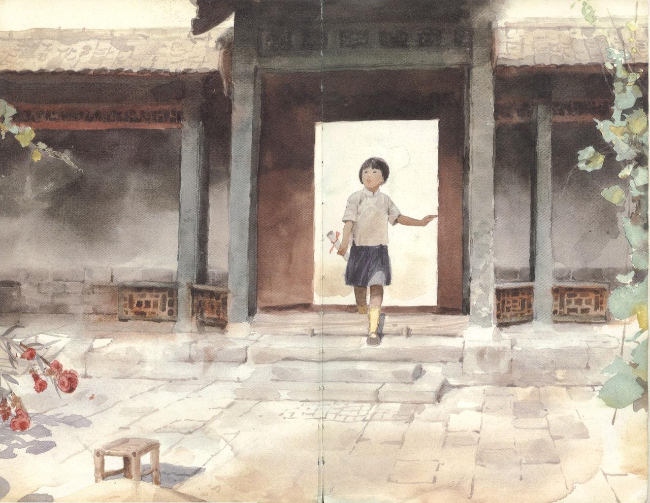 百度_城南旧事吧_插画:城南旧事——关维兴3 - 浪掷浮生 - 坐看风云