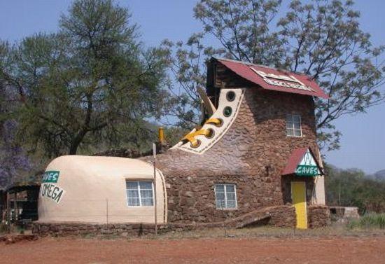 世界最奇思妙想的房子【2】 - 温柔细雨 - 一丝小雨盈盈而落......