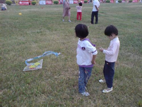 九九重阳,我们的风筝节 - jiaxian1982 - 诗意地栖居