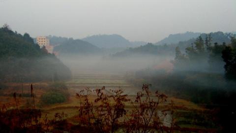 株洲环道早晨所拍风景(原) - 人在旅途 - 净土的博客