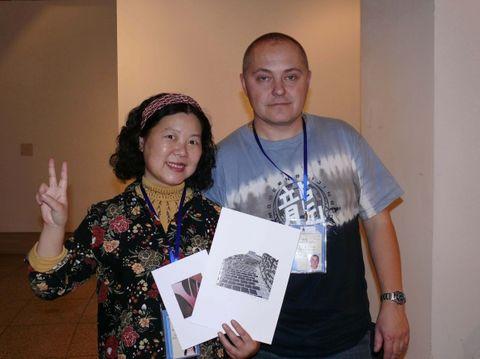 32届国际藏书票双年展我收藏的外国十位名家之一的作品(3) - 何鸣芳 - 何鸣芳的版画藏书票博客