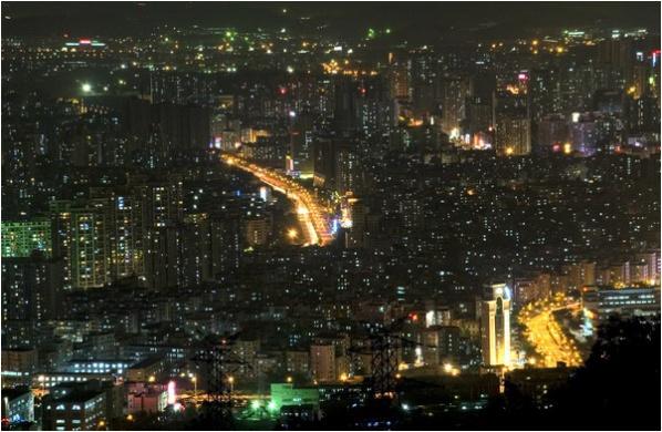 [原]深圳·南山·夜景  - Tarzan - 走过大地
