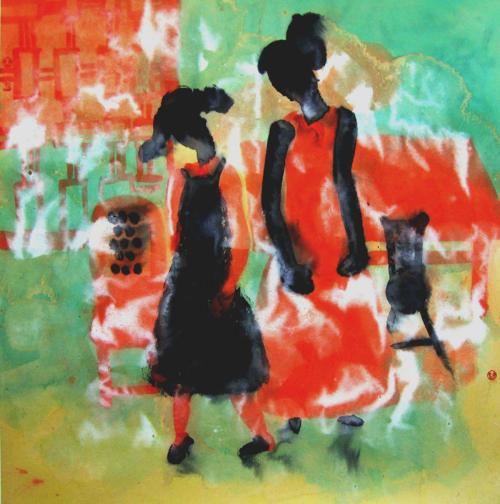 著名青年画家曹娜人物画作品展将于11月10日在北京大千画...