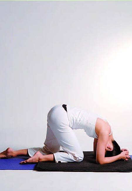 瑜伽动作治疗失眠 - 冬韵如歌 - 冬韵如歌