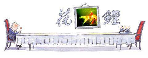(原创)花 鲤 - 俊朗的阳光 -         临街的窗