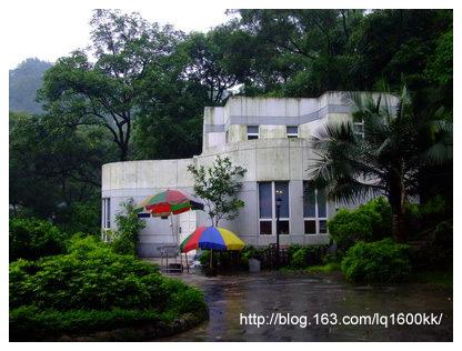 雨中卓旗山庄 - lq - LQ的博客