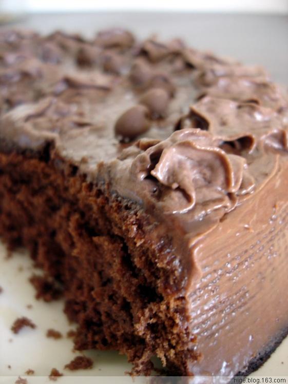 自制巧克力奶油蛋糕超详细攻略