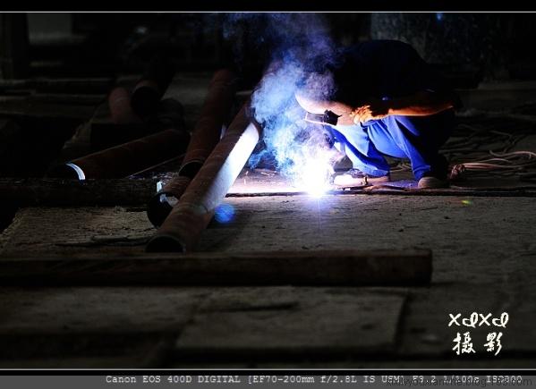 【工业摄影】 焊花飞溅 - xixi - 老孟(xixi)旅游摄影博客