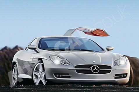 梅赛德斯-奔驰迈凯伦slr超级跑车高清图片