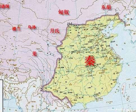 秦朝的疆域