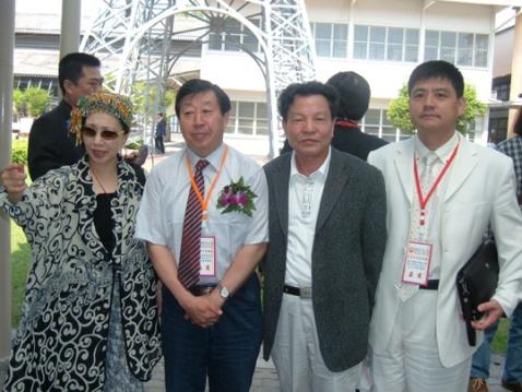 """张际才先生随中国美术家代表团参加在曼谷举行的""""中泰当代美术展"""" - 张际才 - 张际才的艺术空间"""