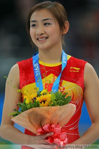 奥运●最美冠军【何雯娜生活写真】 - 美女--何乐不为 - 学习、娱乐、开心你我她!