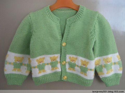外婆织给猪宝宝的毛衣 - 晏夕 - 我的 Slow  Life