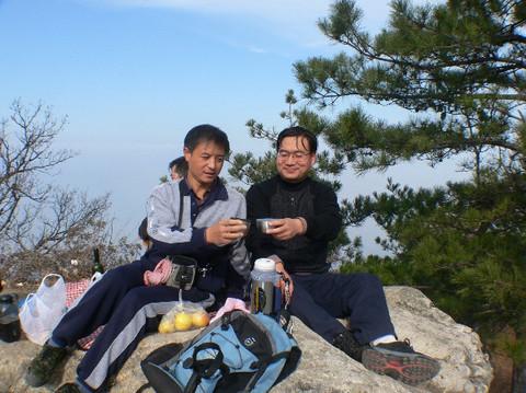 十一月十八日与驴友登户县太平峪万花山 - xianhxqcm - 终南天下秀