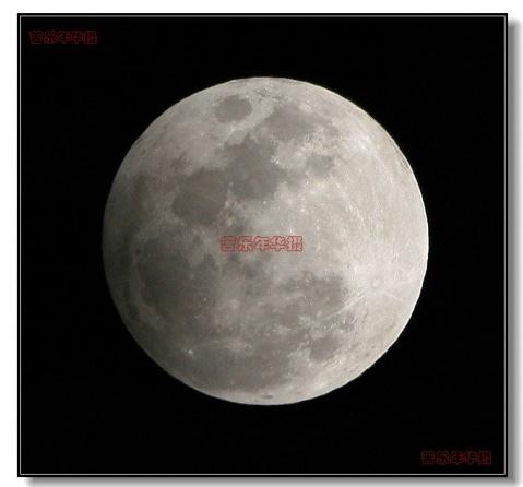 圆 月(元霄节晚10:35分摄): - 苦乐年华 - 苦乐年华的博客