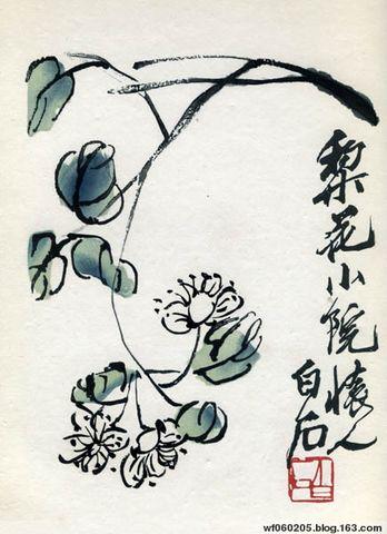 齐白石写意花鸟画欣赏