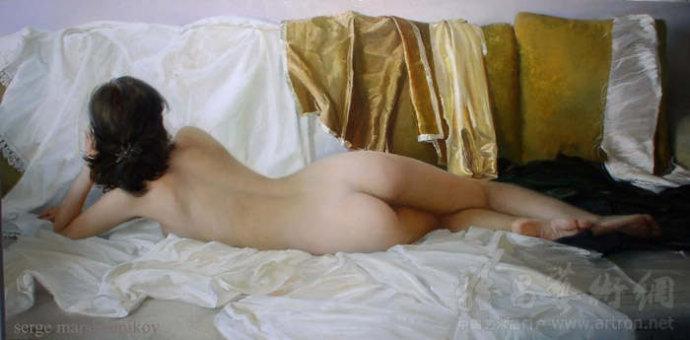 [转载]一组优美的人体油画