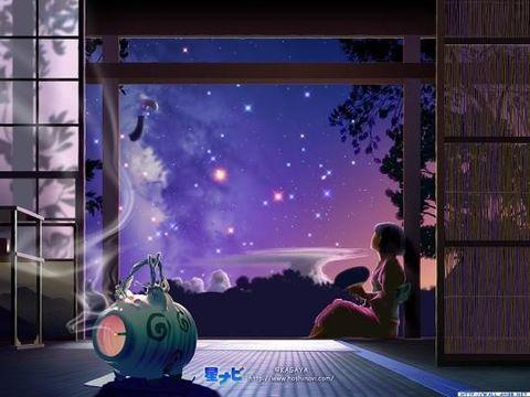 七夕夜(原创) - 冰芯雪蕊 - 冰天雪地的足迹