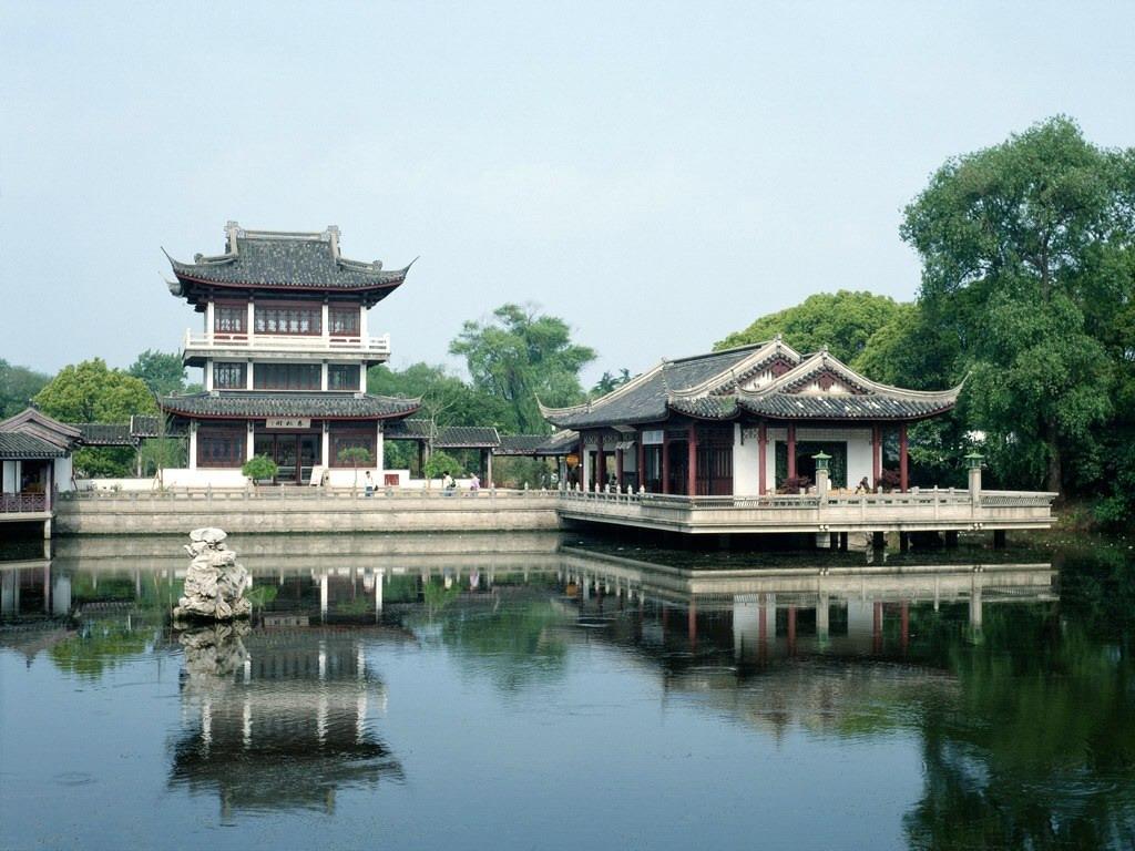 中国古典建筑精品-亭台楼阁 - 小鸟依人美媚儿 - 思绪飘飞-【美女】-情感故事-成人