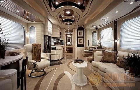 全球最豪华的巴士(组图) - 悠然 - 天然居