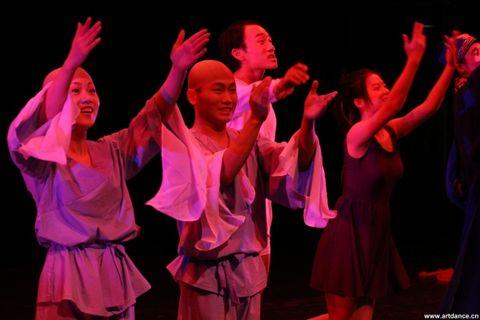 阶段性胜利后的短暂放松——现代实验舞台艺术的亲身践行8(原创) - 使者--李堂吉诃德白 - 中国舞蹈联盟系列博客 ——说舞